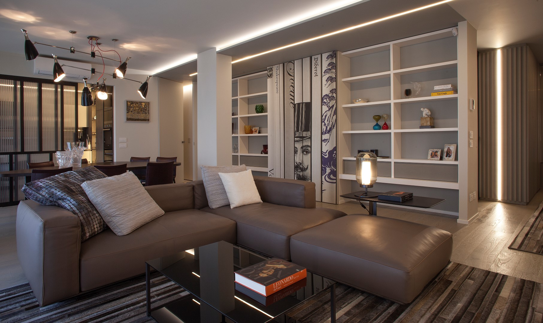 Arredo soggiorno design - Falegnameria Magrini